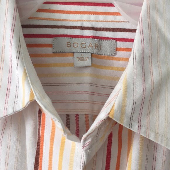 Vintage Tops - Vintage Inspired Striped Collared Shirt